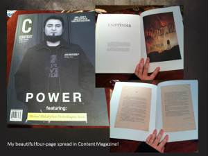 Content Magazine Spread