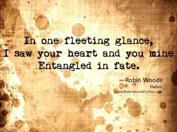Fleeting Glance Haiku by Robin Woods